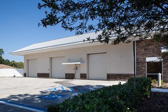 Public Works Garage Storage
