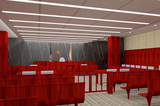 Court Room 214