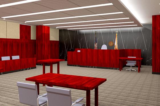 Court Room 215